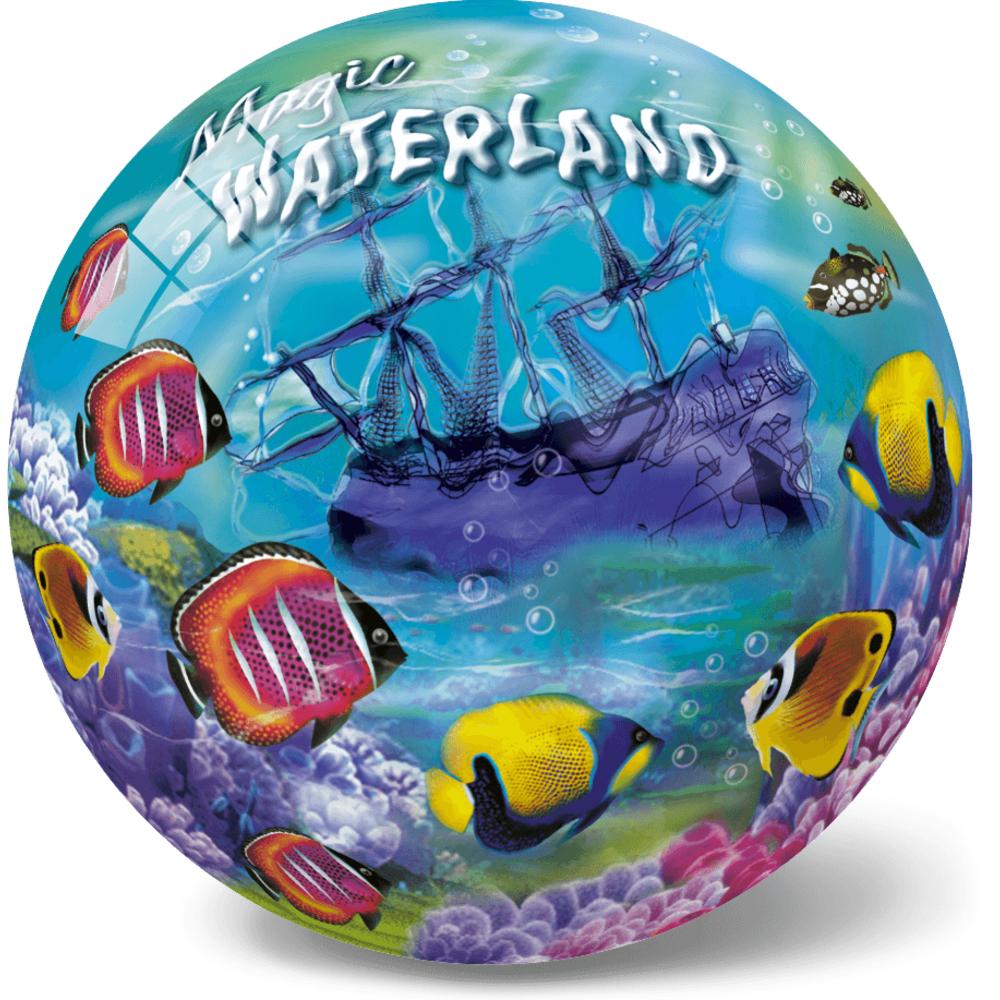 Μπάλα Πλαστική Μεγάλη 23cm The Magic Waterland