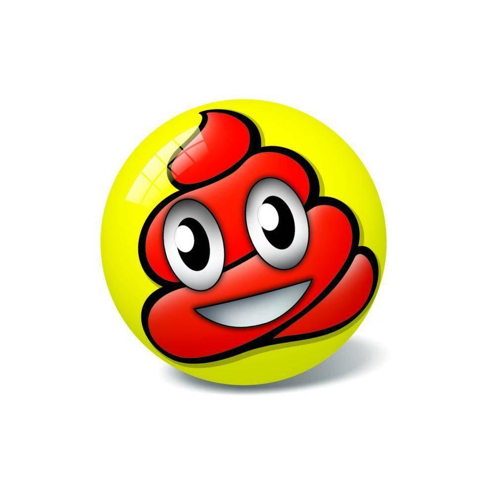 Μπάλα Πλαστική Μικρή 11cm Νέες Φατσούλες