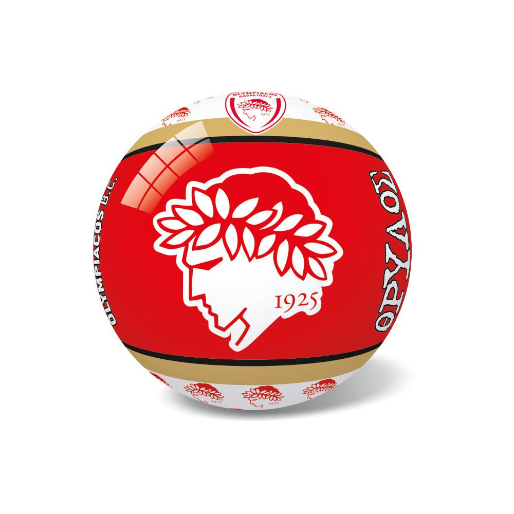 Μπάλα Πλαστική Μικρή 14cm Ολυμπιακός