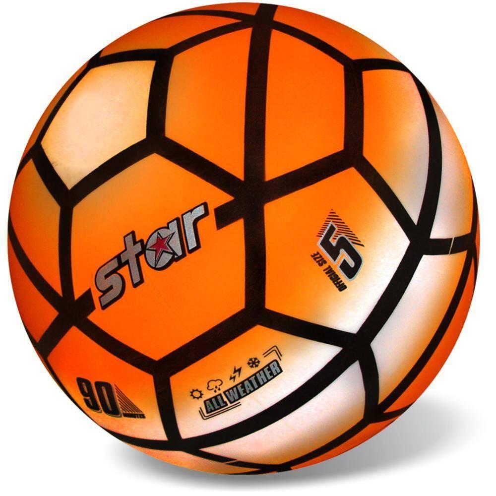 Μπάλα Πλαστική Μεγάλη 23cm Pvc Soccer Fluo (Ο/G/Y/F)