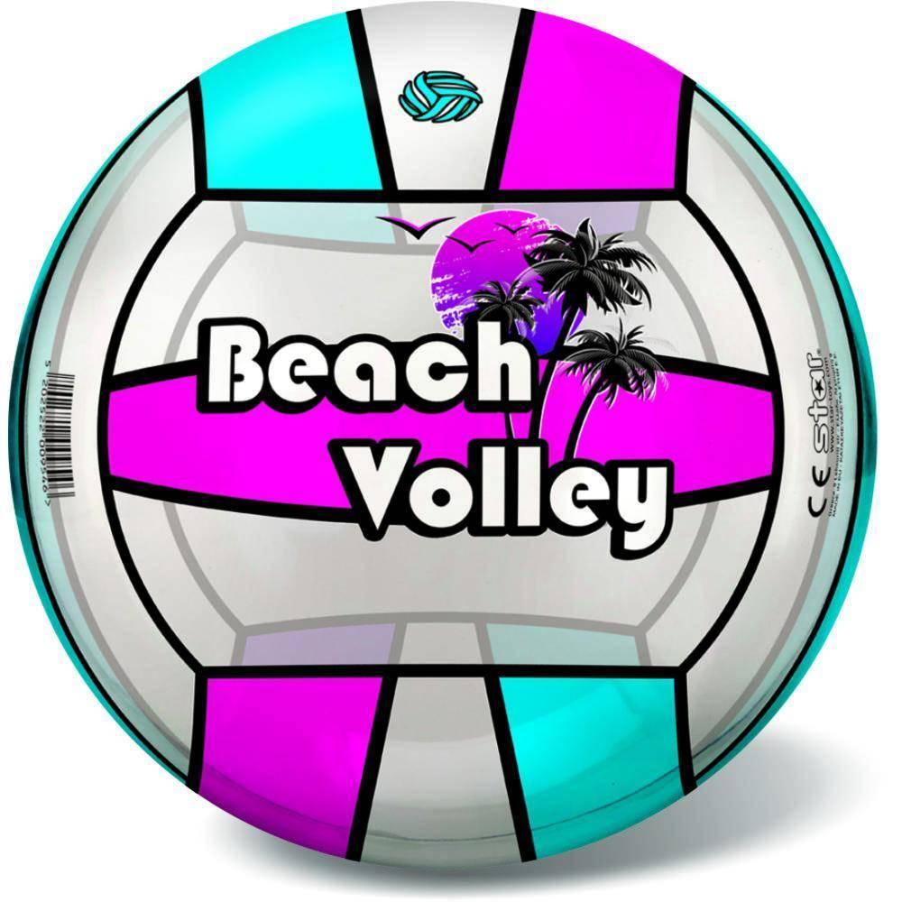 Μπάλα Πλαστική Μεγάλη 23cm Volley Διάφανη