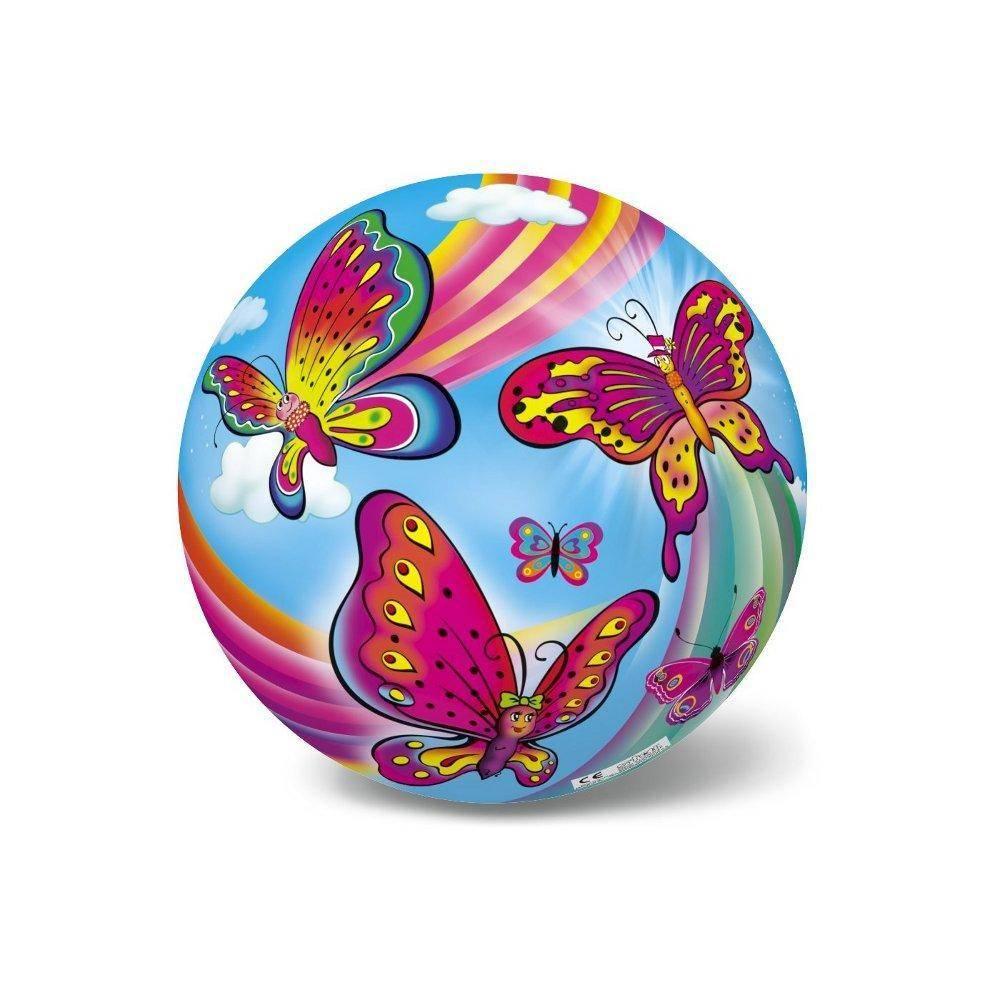 Μπάλα Πλαστική Μικρή 14cm Πεταλούδες