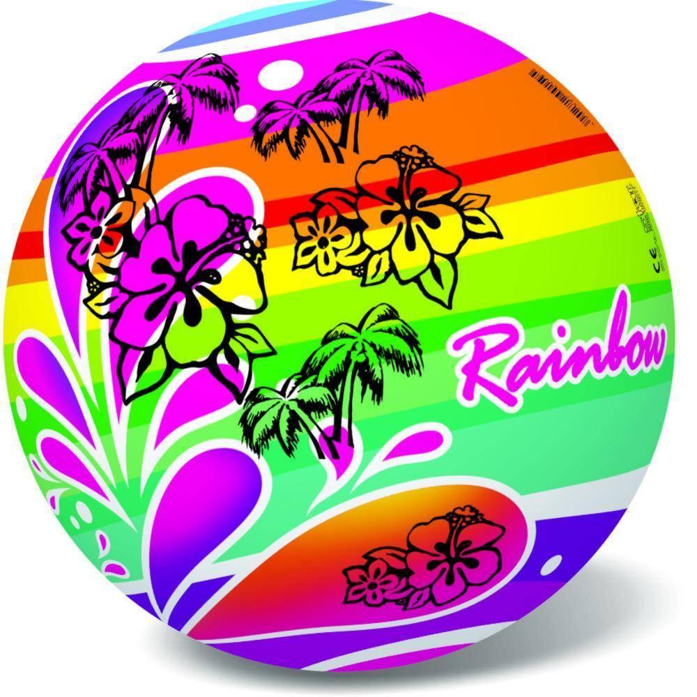 Μπάλα Πλαστική Μεγάλη 23cm Rainbow