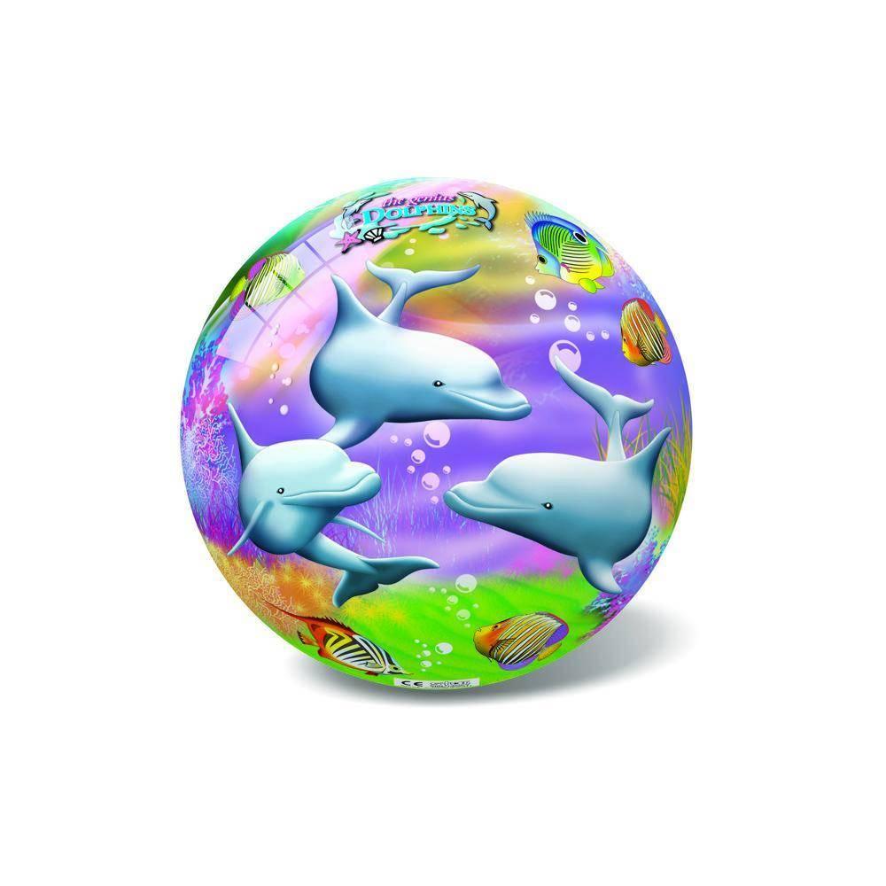 Μπάλα Πλαστική Μικρή 14cm Δελφίνια