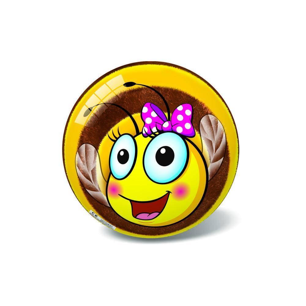 Μπάλα Πλαστική Μικρή 14cm Bee Happy