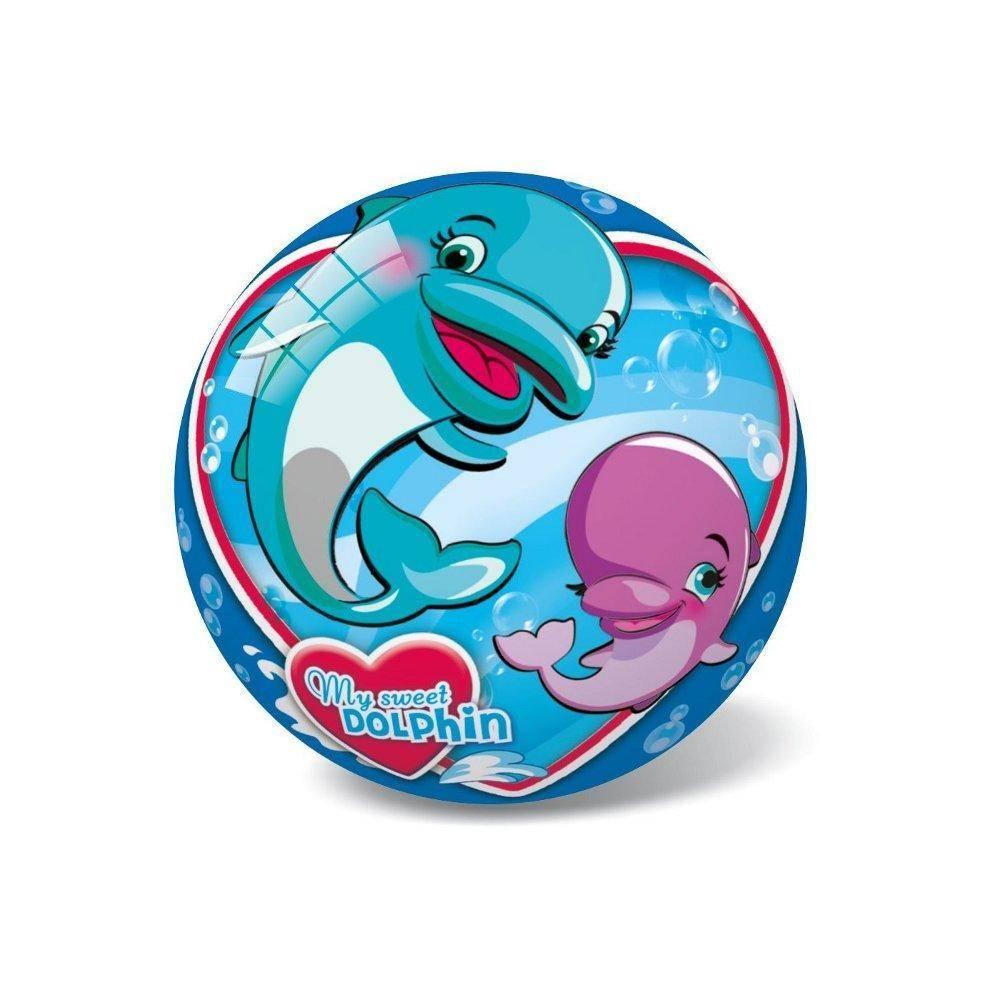 Μπάλα Πλαστική Μικρή 14cm Sweet Dolphin