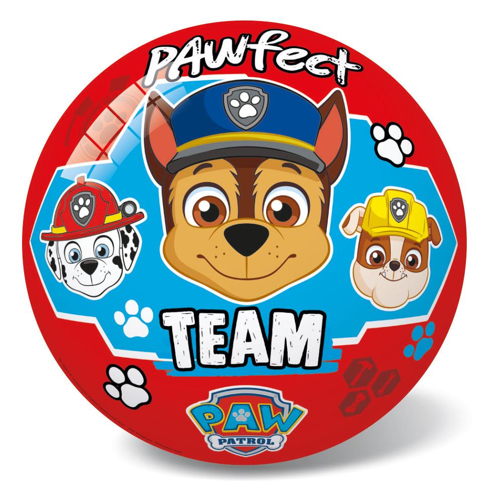Μπάλα Πλαστική Μεγάλη 23cm Paw Patrol KOKKINH