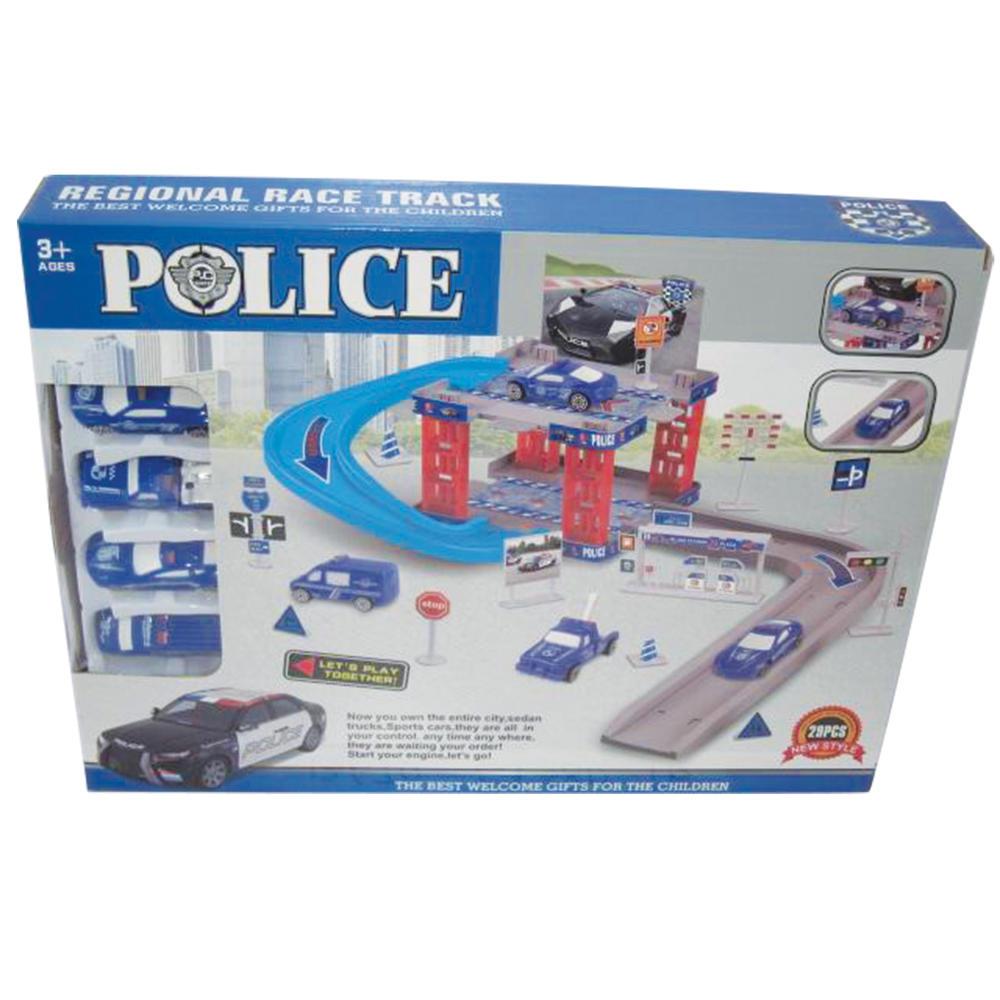 POLICE STATION ΜΕ 4 ΟΧΗΜΑΤΑ  37Χ27ΕΚ