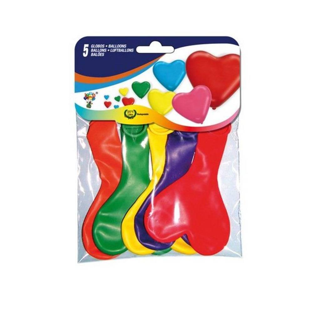 Μπαλόνια Καρδιά 31cm set 5 τεμαχίων