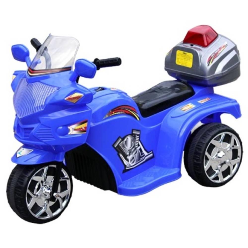 Ηλεκτροκίνητη Παιδική Μηχανή Αστυνομίας Μπλε