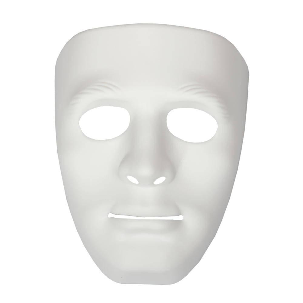 Πλαστική Μάσκα Ασπρη