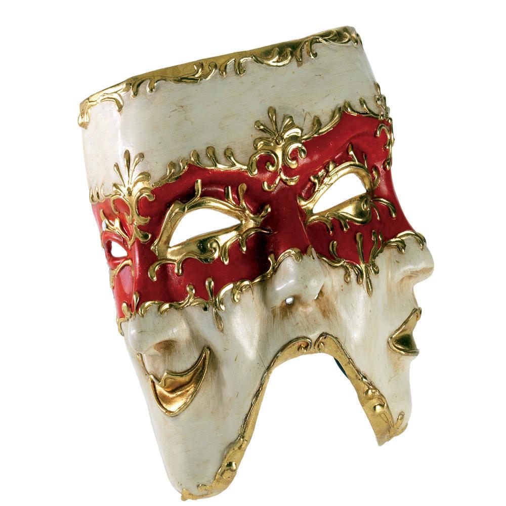 Μάσκα Paper Mache 3 Πρόσωπα