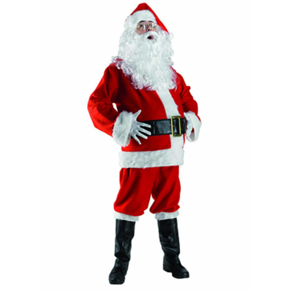 Χριστουγεννιάτικη στολή ΑΪ Βασίλη ΜΕ ΓΟΥΝΑ (ONE SIZE)