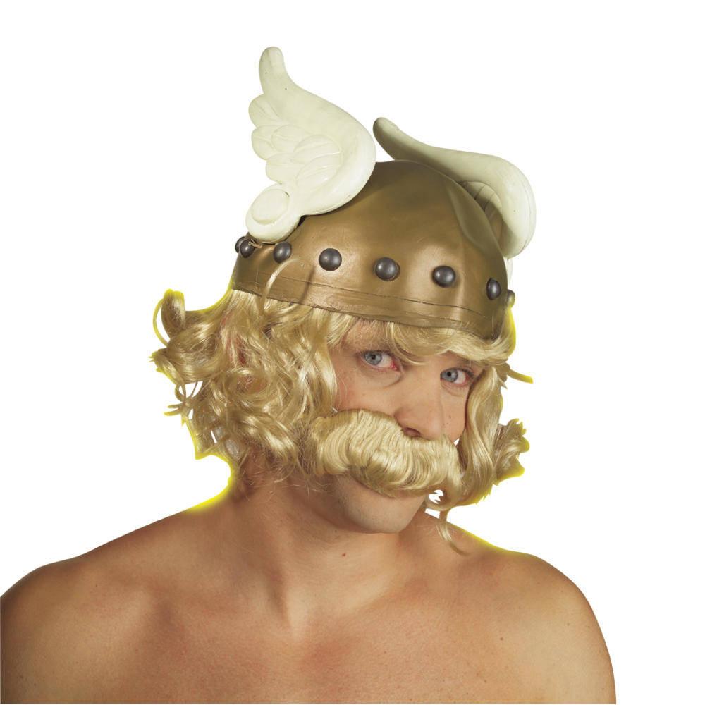 Καπέλο Asterix Με Μαλλιά Και Μουστάκι