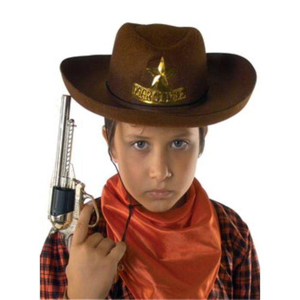 Παιδικό Καπέλο Καουμπόι Τσόχινο