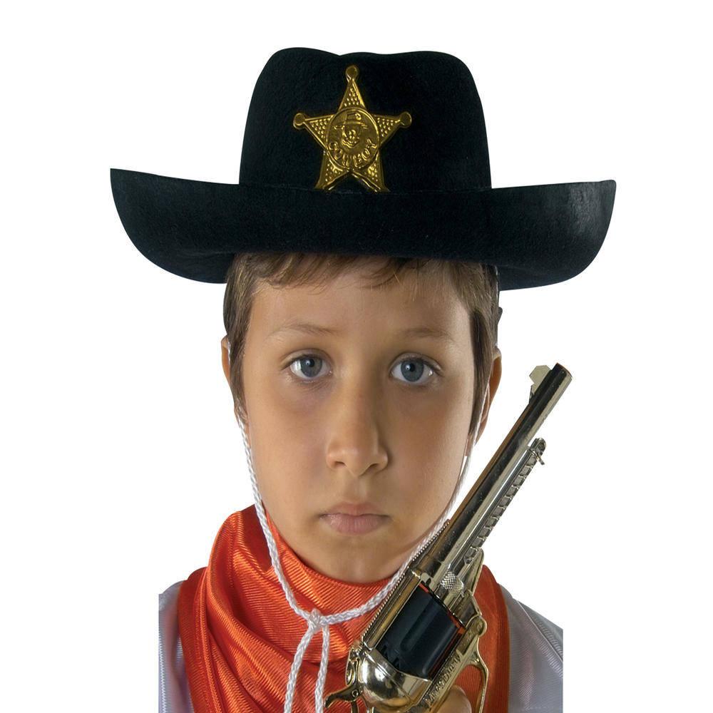 Παιδικό Καπέλο Σερίφη Τσόχινο