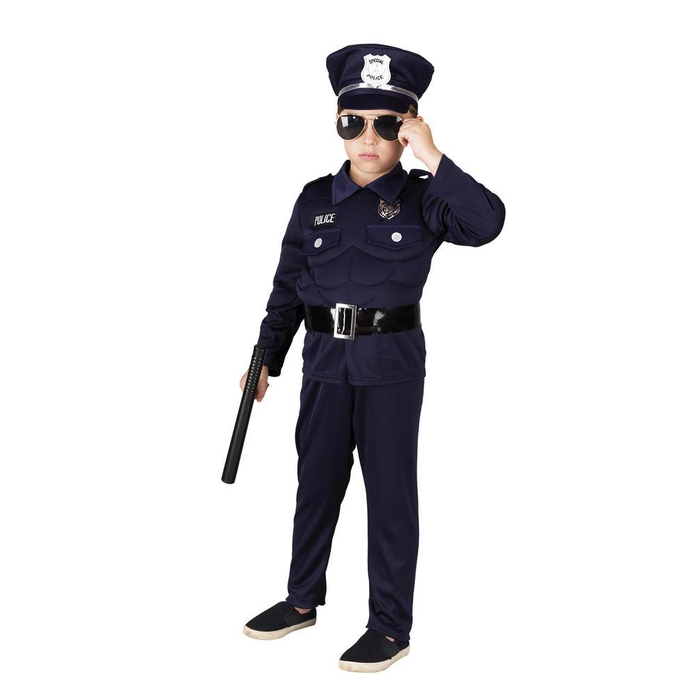 ΑΠΟΚΡΙΑΤΙΚΗ ΣΤΟΛΗ MUSCLE POLICEMAN