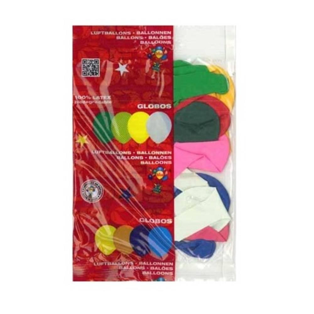 Μπαλόνια σε Φακελάκι 10 τεμαχίων 20cm