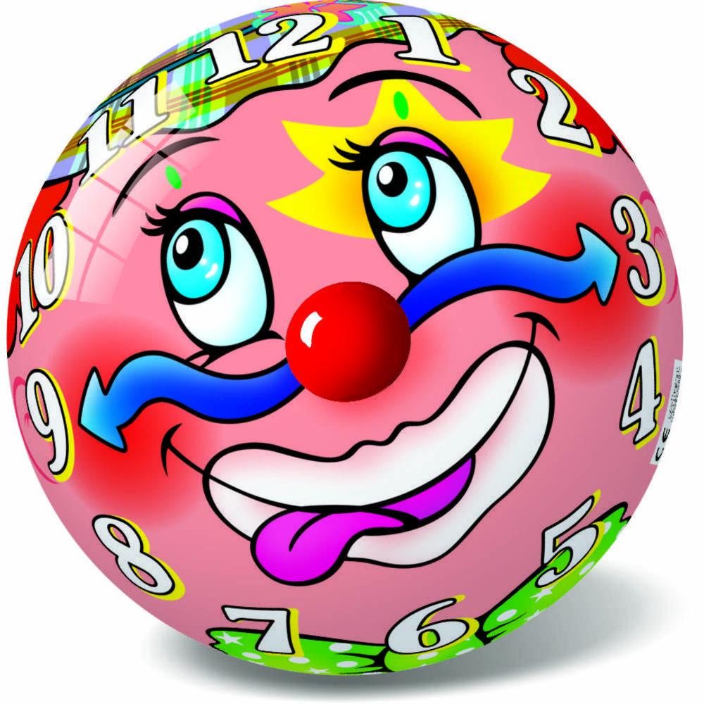 Μπάλα πλαστική Κλόουν 23cm 10/048Κ