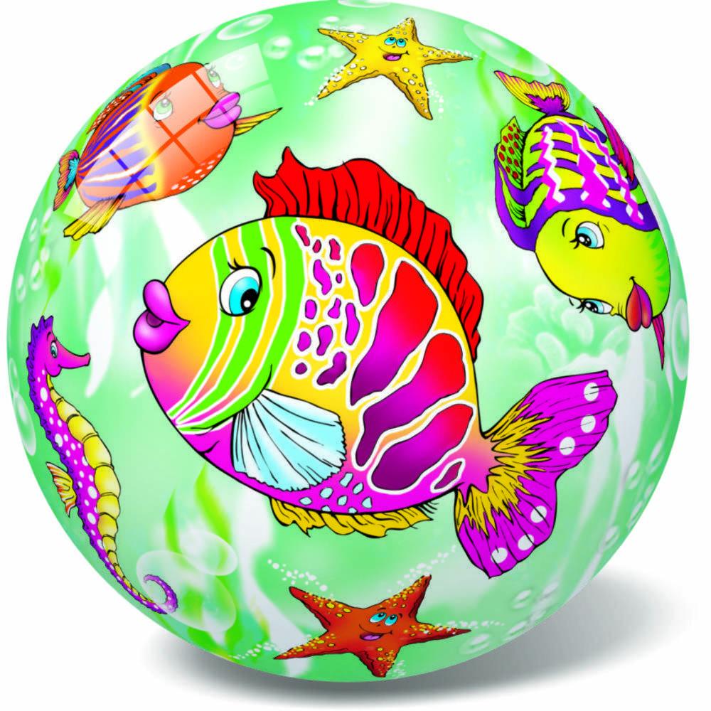 Μπάλα πλαστική Ψαράκια 23cm 10/048Ψ