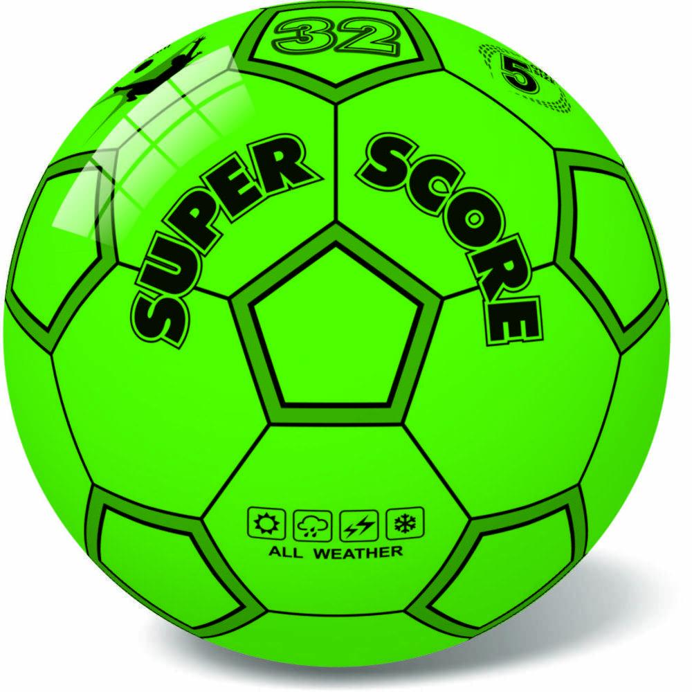 Μπάλα πλαστική Score Green 23cm 10/890G