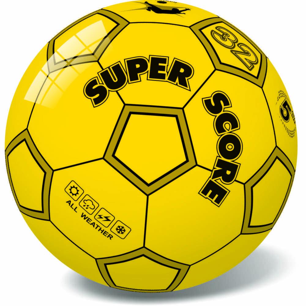 Μπάλα πλαστική Score Yellow 23cm 10/890Υ