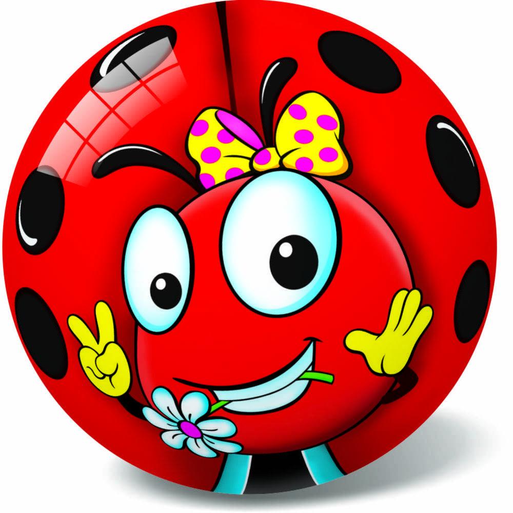 Μπάλα Πλαστική Μεγάλη 23cm Fancy Queen