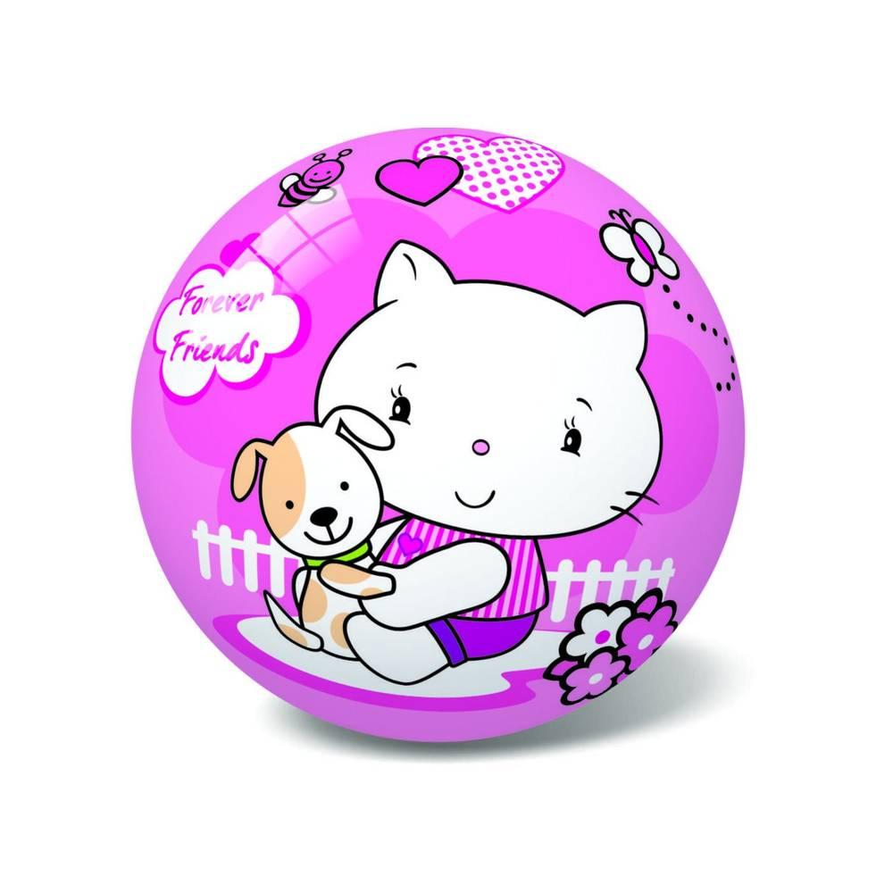 Μπάλα Πλαστική Μικρή 14cm Kitty